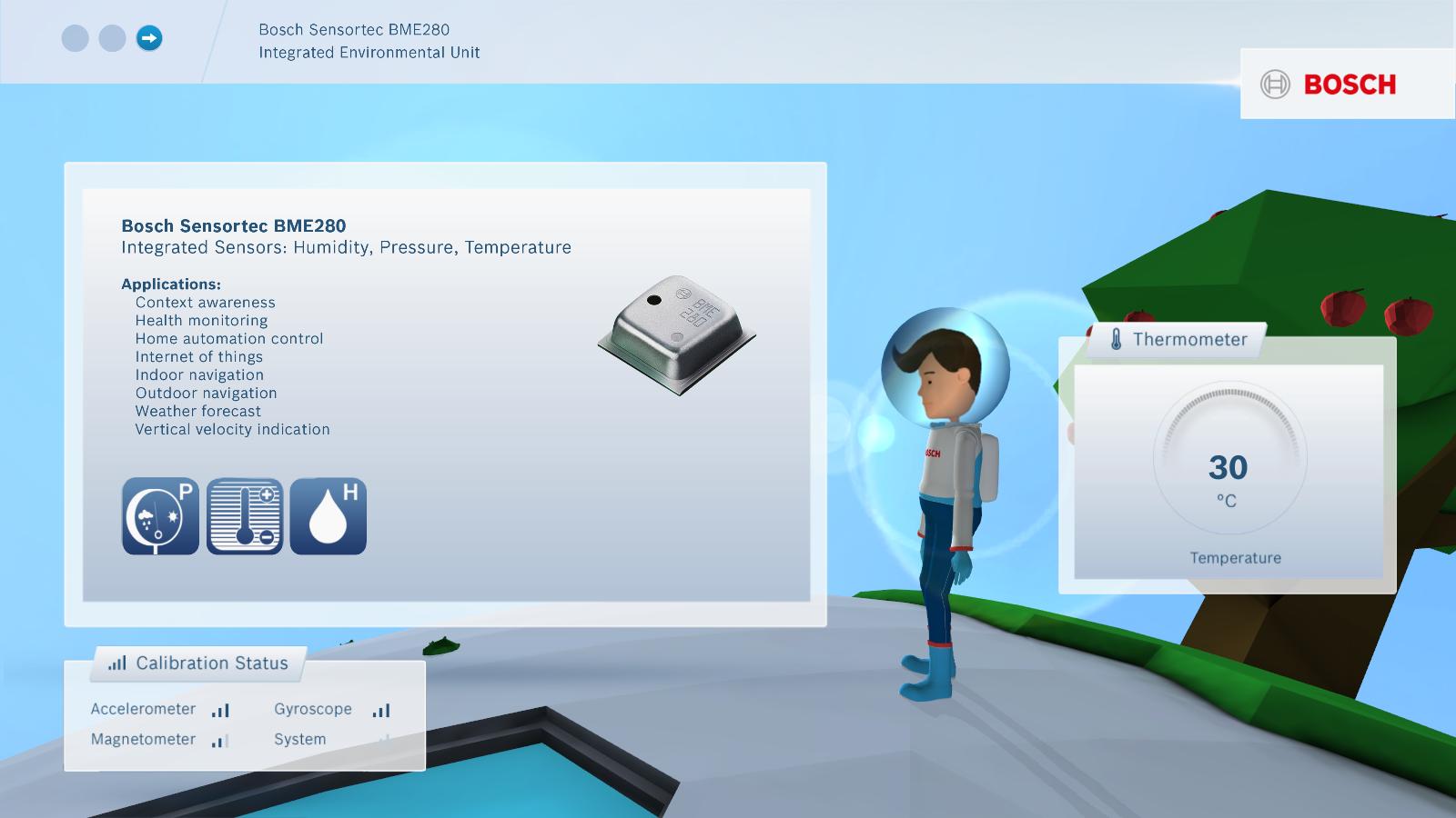 Bosch Sensors Interactive
