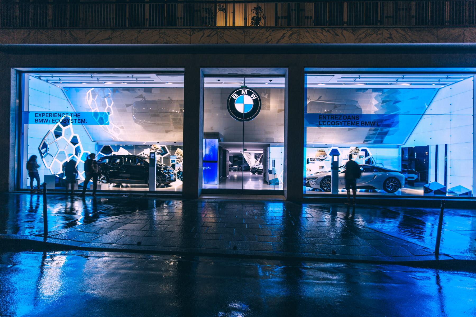 BMW George V EXPERIENCE BMW i ECOSYSYTEM WP2