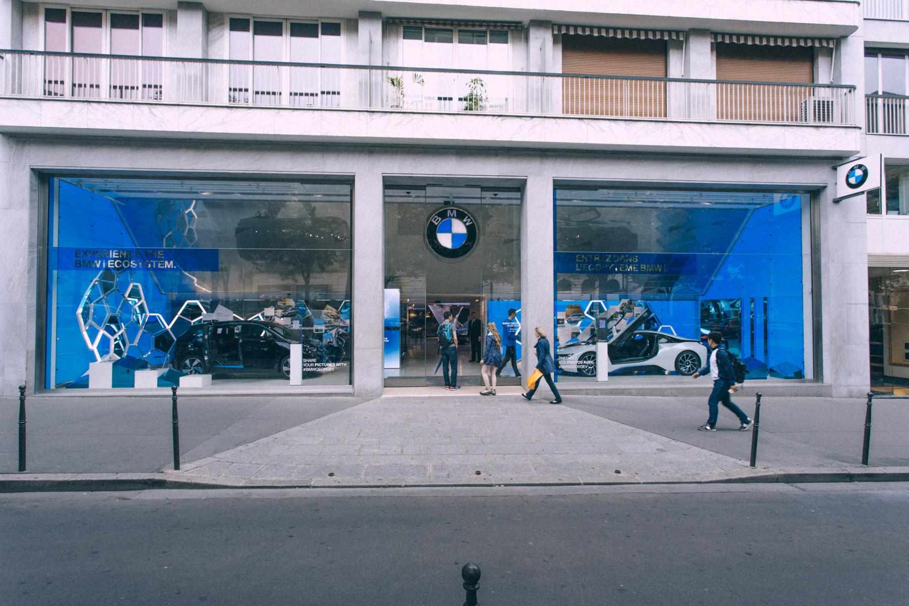 BMW George V EXPERIENCE BMW i ECOSYSYTEM WP41
