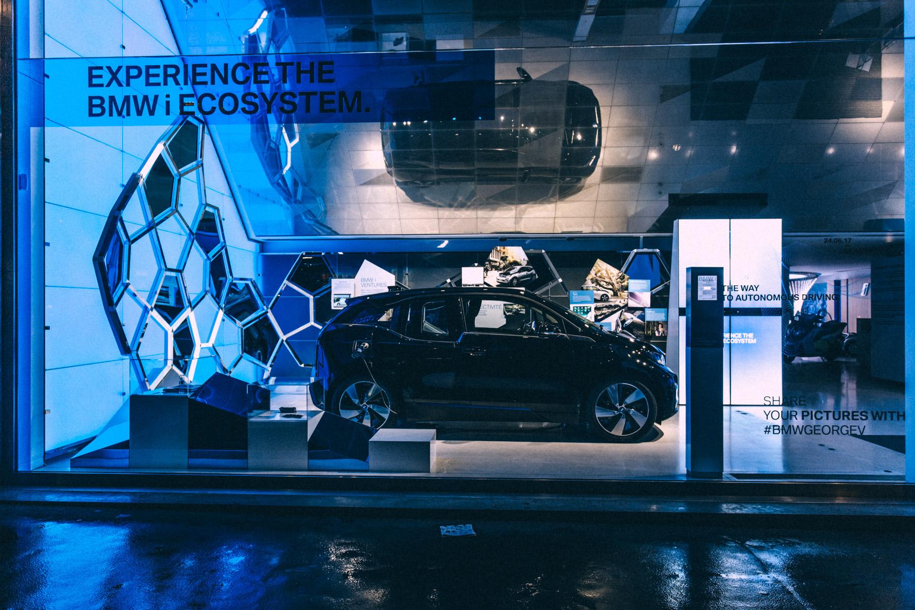 BMW George V EXPERIENCE BMW i ECOSYSYTEM WP8