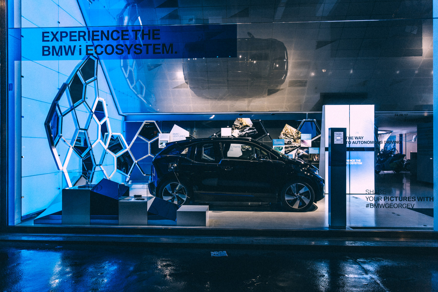BMW George V EXPERIENCE BMW i ECOSYSYTEM WP9