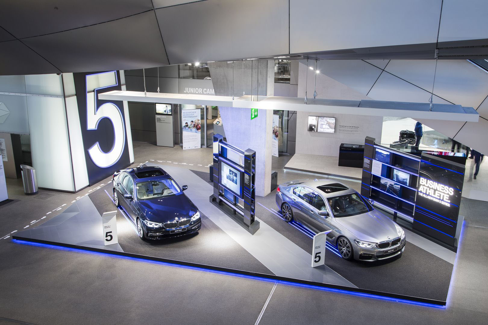 BMW 5 Series Brand Stores