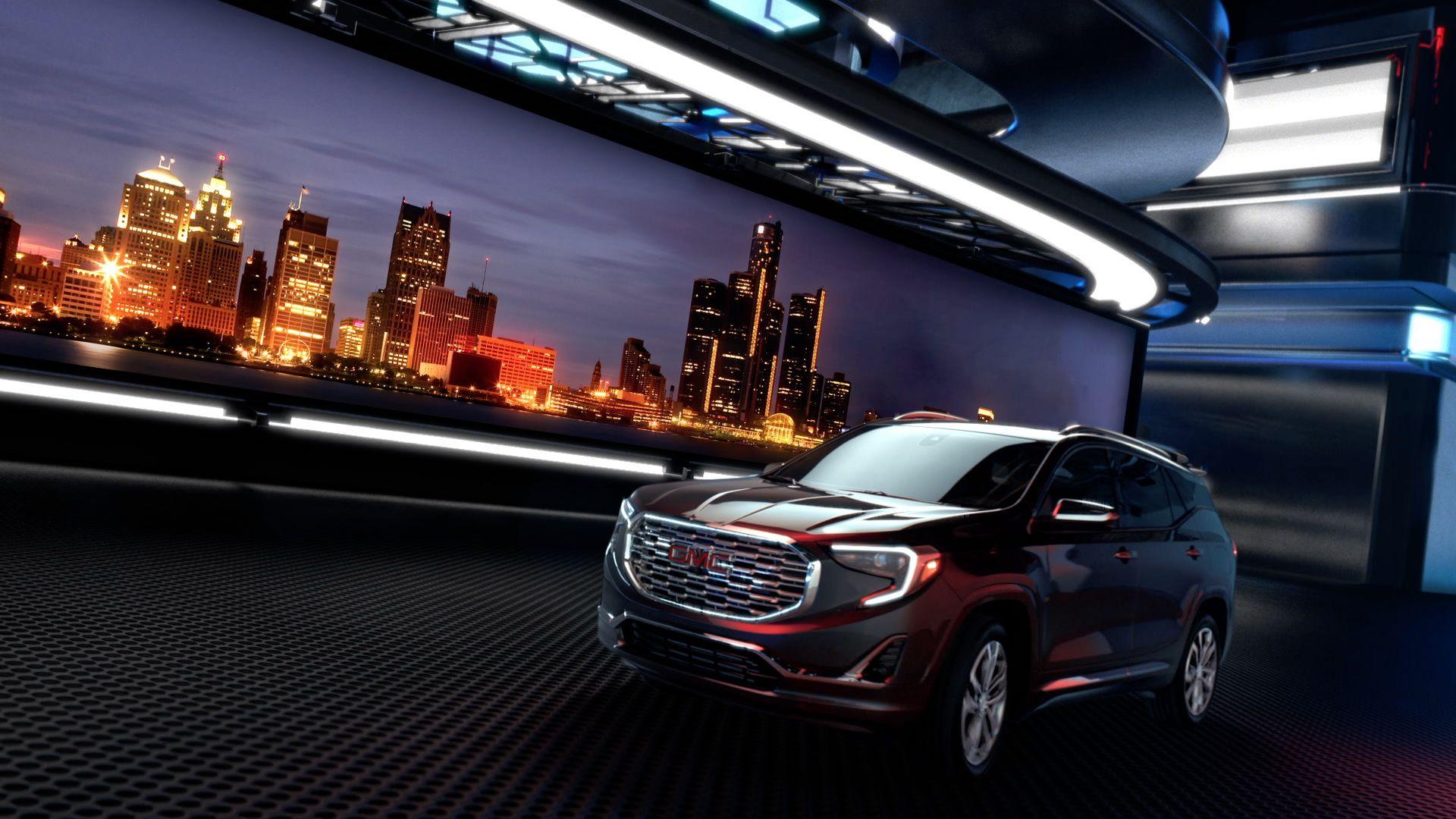 Detroit Futuristic Garage 1080