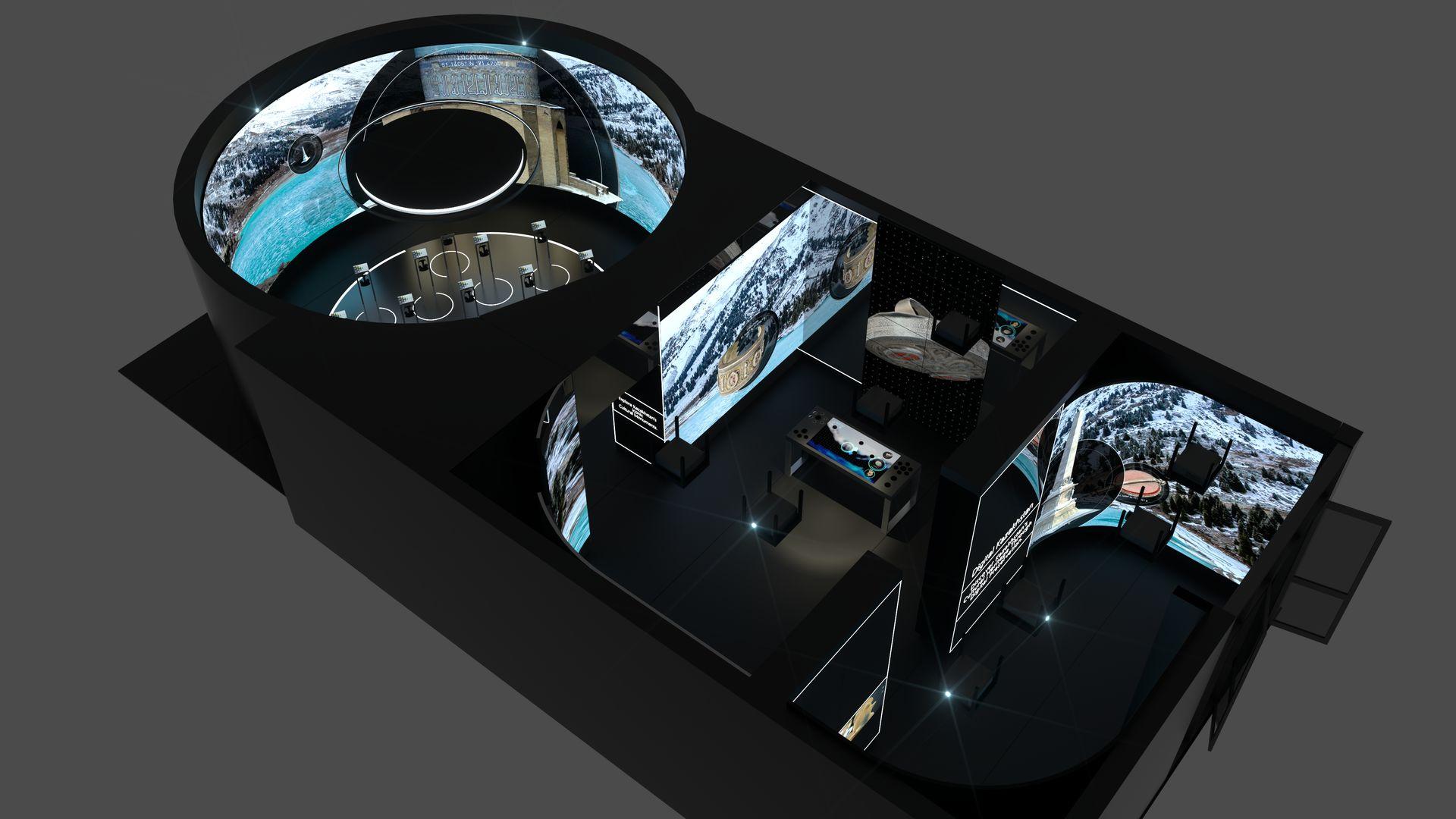 VR AR space